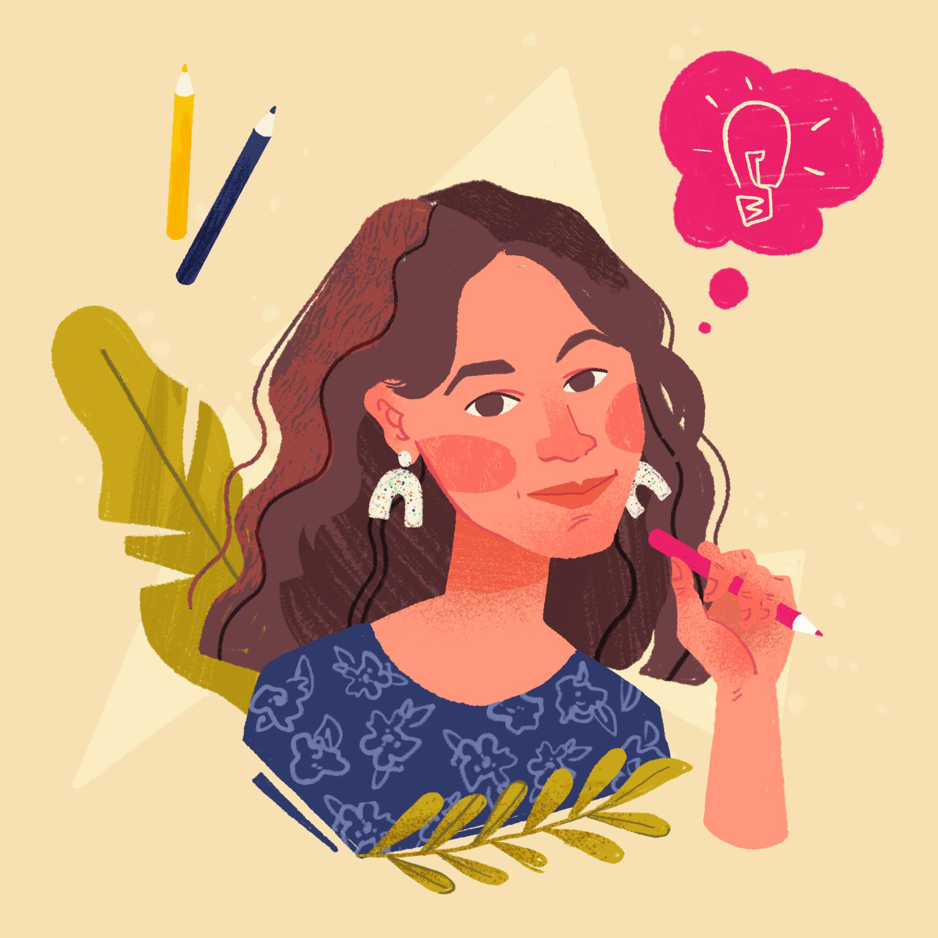 o mnie, portret, artystka, ilustrator, wyobraźnia
